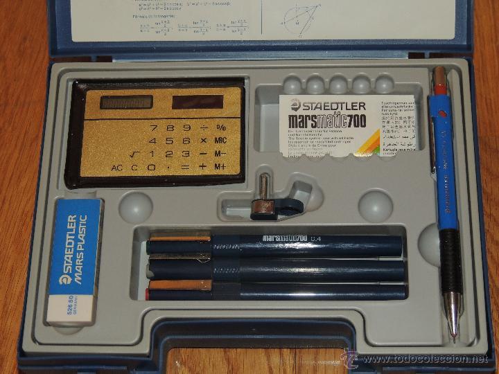 Estilográficas antiguas, bolígrafos y plumas: CAJA STAEDTLER TECHNISET, NUEVA SIN USAR - Foto 4 - 136253584