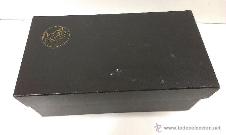Estilográficas antiguas, bolígrafos y plumas: JUEGO COMPLETO DE ESCRITURA. EXCLUSIVE DESIGN - Foto 4 - 48940127
