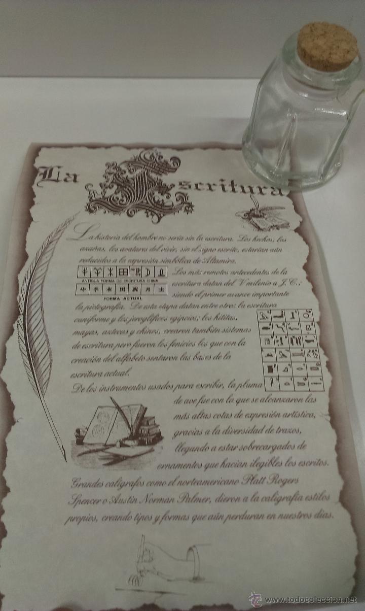 Estilográficas antiguas, bolígrafos y plumas: JUEGO COMPLETO DE ESCRITURA. EXCLUSIVE DESIGN - Foto 12 - 48940127