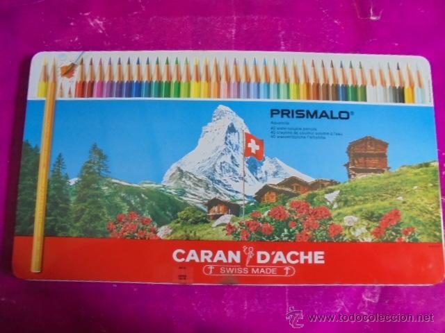 gran caja metalica de 40 lapices de colores - c - Comprar Juegos y ...