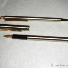Estilográficas antiguas, bolígrafos y plumas: MAGNIFICO JUEGO DE BOLIGRAFO Y PLUMA SENATOR. Lote 50043751