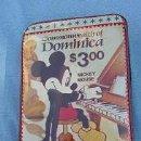 Estilográficas antiguas, bolígrafos y plumas: MICKEY MOUSE COMMONWEALTH OF DOMINICA. ESTUCHE ESCOLAR DE CREMALLERA, PLUMIER AÑOS 80.. Lote 50217670