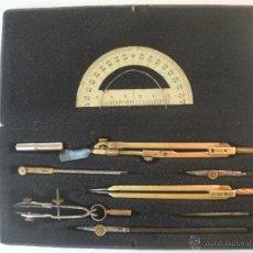 Estilográficas antiguas, bolígrafos y plumas: MAGNIFICO CONJUNTO DE COMPASES DE LA PRESTIGIOSA MARCA - GBR.WICHMAN.BERLIN -. Lote 51371968