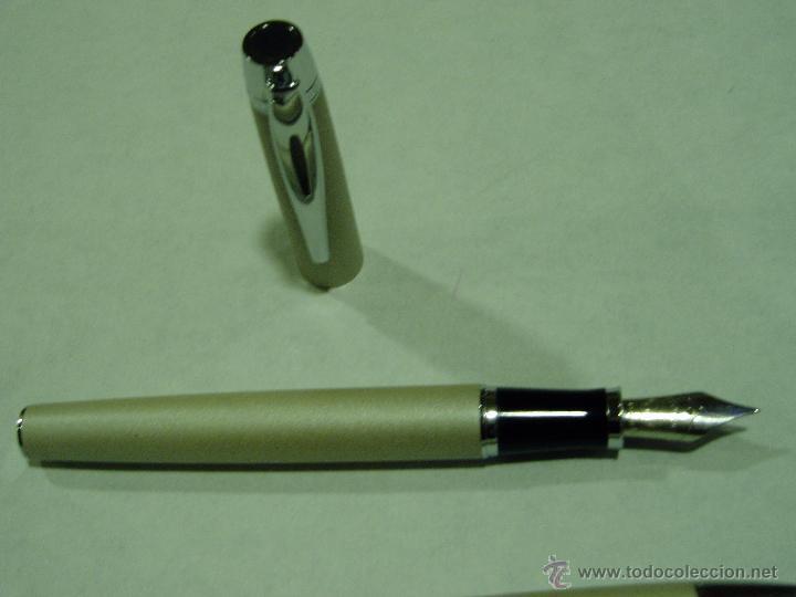 Estilográficas antiguas, bolígrafos y plumas: BOLÍGRAFO Y PLUMA INOXCROM - Foto 2 - 51767488