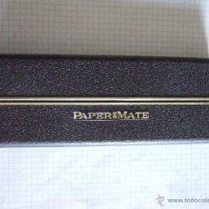 Estilográficas antiguas, bolígrafos y plumas: CAJA PAPER MATE - PARA BOLIGRAFO Y LAPIZ -. Lote 51931696