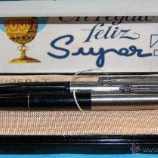 Estilográficas antiguas, bolígrafos y plumas: ANTIGUO JUEGO SUPER T OLIMPIA - NUEVO. Lote 52774754