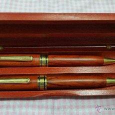 Estilográficas antiguas, bolígrafos y plumas: JUEGO DE BOLIGRAFO Y LAPIZ TAIWA. Lote 53599833