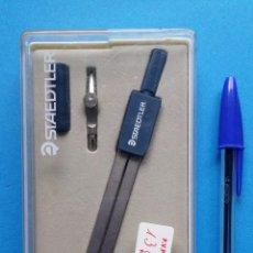 Estilográficas antiguas, bolígrafos y plumas: ESTUCHE COMPAS STAEDTLER ANTIGUO. Lote 53909984