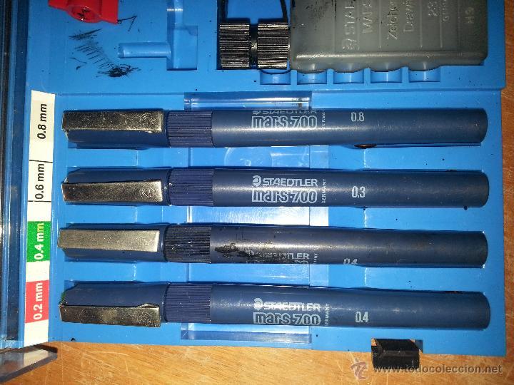 Estilográficas antiguas, bolígrafos y plumas: CONJUNTO staedtler mars - 700, - Foto 3 - 54081061