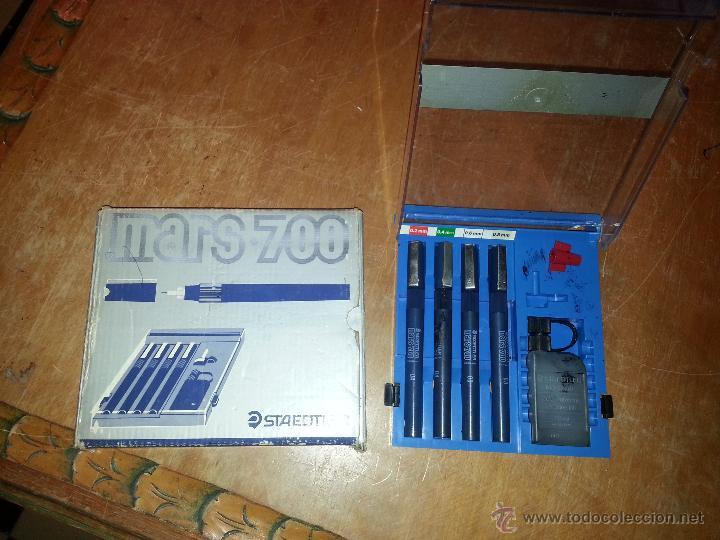 Estilográficas antiguas, bolígrafos y plumas: CONJUNTO staedtler mars - 700, - Foto 4 - 54081061