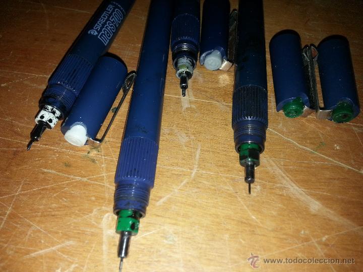 Estilográficas antiguas, bolígrafos y plumas: CONJUNTO staedtler mars - 700, - Foto 8 - 54081061