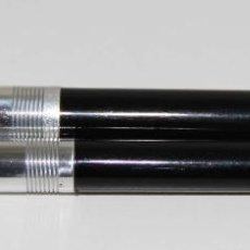 Estilográficas antiguas, bolígrafos y plumas: EST230 PLUMA Y PORTAMINAS WEAREVER. CELULOIDE. SISTEMA DE PALANCA. USA. AÑOS 60. Lote 48254164