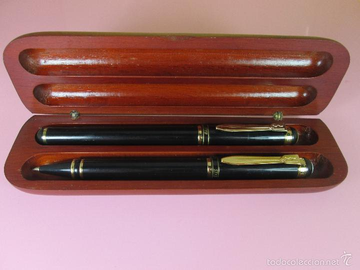 Estilográficas antiguas, bolígrafos y plumas: 7892/JUEGO PLUMA+BOLÍGRAFO-STYB-NOS-CAJA-VER FOTOS. - Foto 8 - 55140979