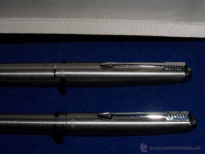 Estilográficas antiguas, bolígrafos y plumas: Estuche de Pluma y bolígrafo - Parker - Foto 2 - 55144550