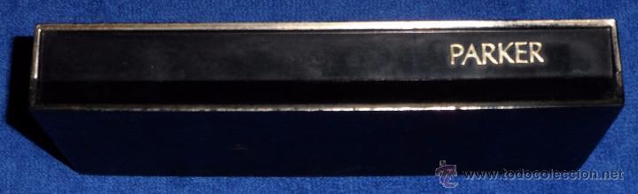 Estilográficas antiguas, bolígrafos y plumas: Estuche de Pluma y bolígrafo - Parker - Foto 3 - 55144550