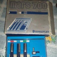 Estilográficas antiguas, bolígrafos y plumas: ESTUCHE STAEDTLER MARS 700 MADE IN GERMAY . Lote 56647266
