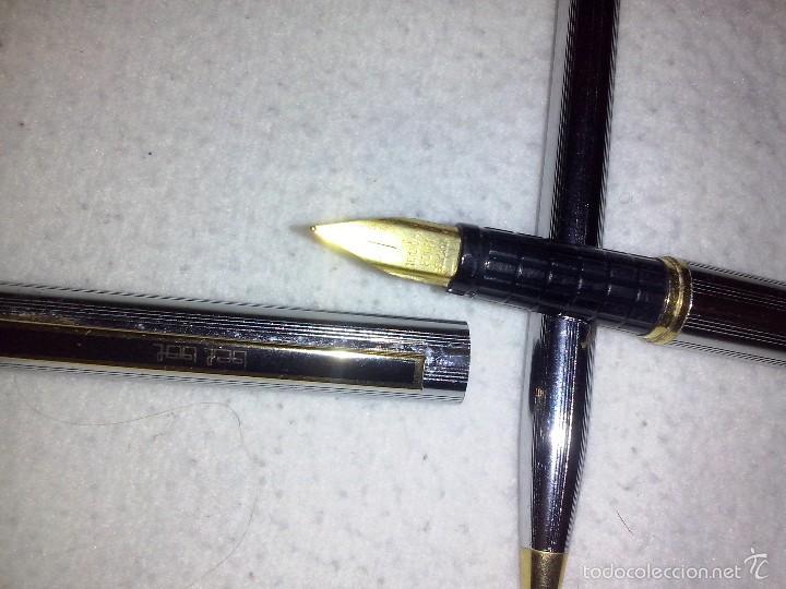 Estilográficas antiguas, bolígrafos y plumas: Magnifica estilografica y boligrafo bel-bol - Foto 2 - 56647521