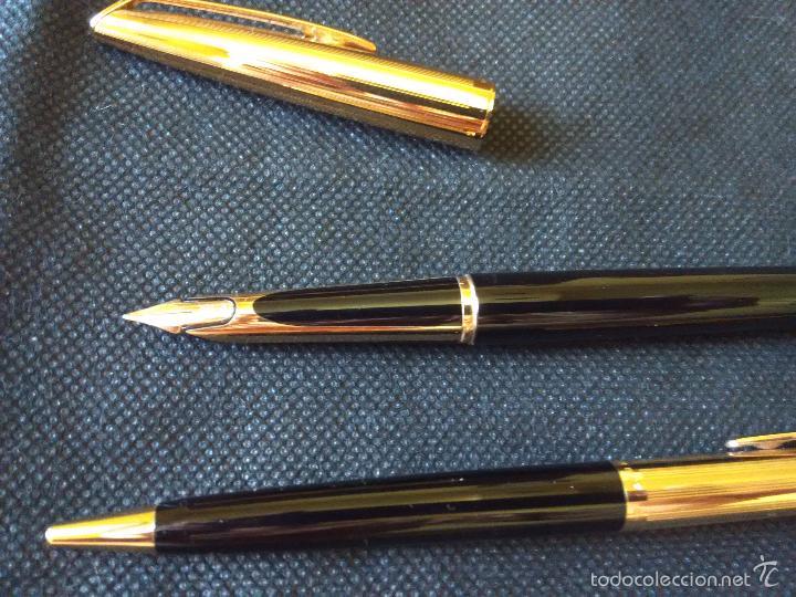 Estilográficas antiguas, bolígrafos y plumas: pluma y estilografica waterman - Foto 4 - 127452252