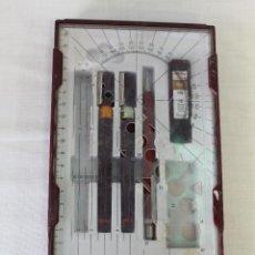 Estilográficas antiguas, bolígrafos y plumas: JUEGO DE ROTRING COLLEGE SET. Lote 81729483