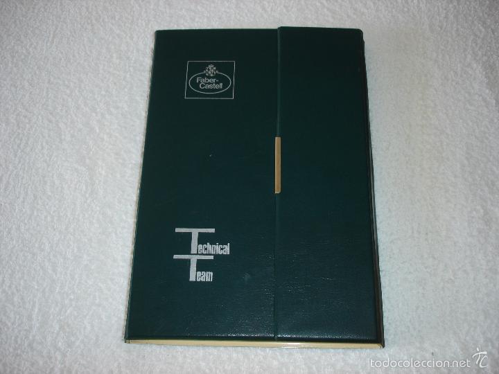 Estilográficas antiguas, bolígrafos y plumas: FABER-CASTELL. ANTIGUO JUEGO ESTUCHE TECNICO - Foto 2 - 59890439