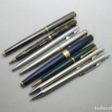 Estilográficas antiguas, bolígrafos y plumas: LOTE VARIADO PARA REPARAR O PIEZAS. Lote 69761873