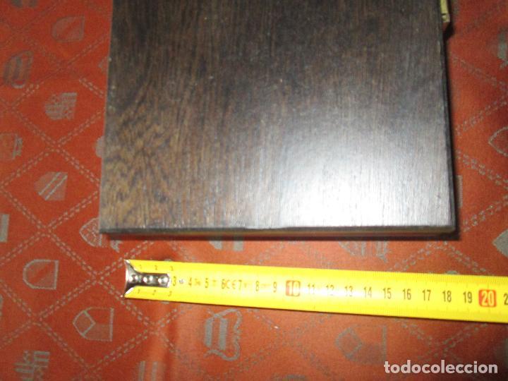 Estilográficas antiguas, bolígrafos y plumas: (7443)-juego escritorio-samer-acero inoxidable-caja madera-nos-ver fotos. - Foto 4 - 70180309
