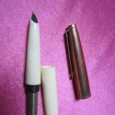 Estilográficas antiguas, bolígrafos y plumas: PLUMA ESTILOGRAFICA , MARCA INOXCROM 33 LA DE LA FOTO. SIN USO. Lote 70767921