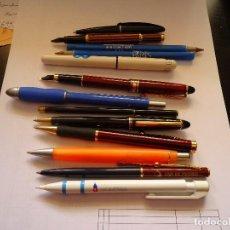 Estilográficas antiguas, bolígrafos y plumas: BOLIGRAFOS Y PLUMAS. Lote 72887823