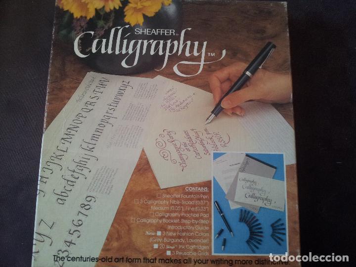 SET SHEAFFER CALLIGRAPHY (Plumas Estilográficas, Bolígrafos y Plumillas - Juegos y Conjuntos)