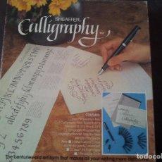 Estilográficas antiguas, bolígrafos y plumas: SET SHEAFFER CALLIGRAPHY. Lote 151878968