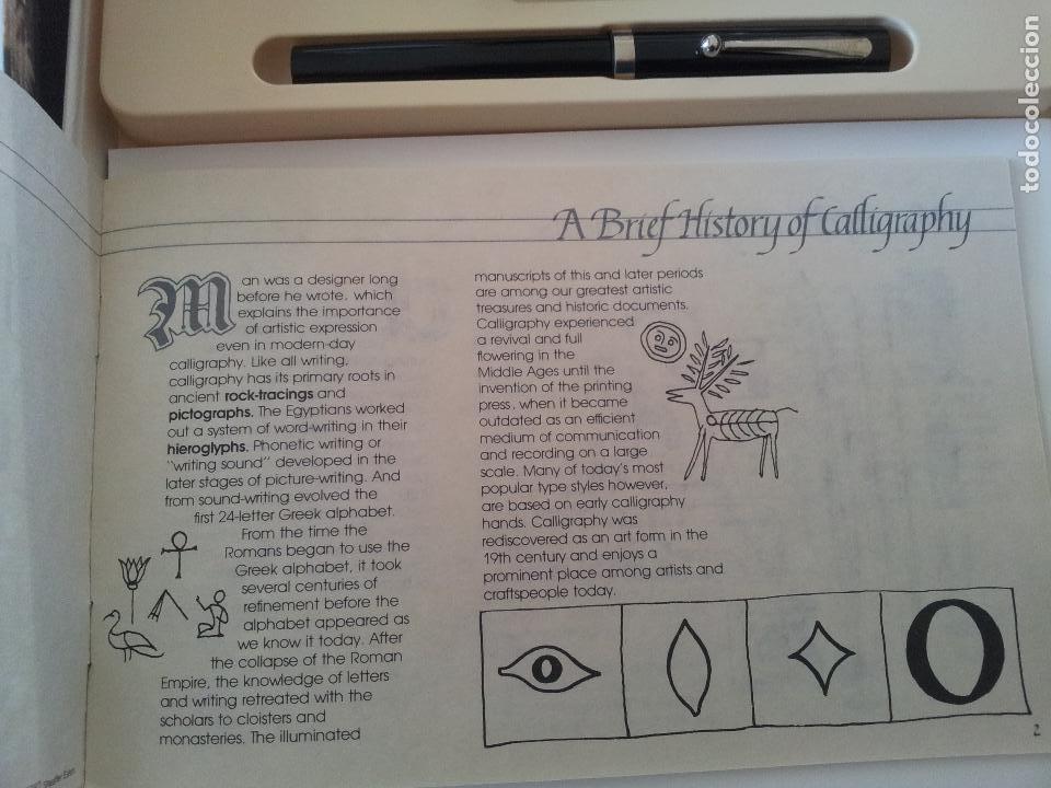 Estilográficas antiguas, bolígrafos y plumas: SET SHEAFFER CALLIGRAPHY - Foto 5 - 151878968