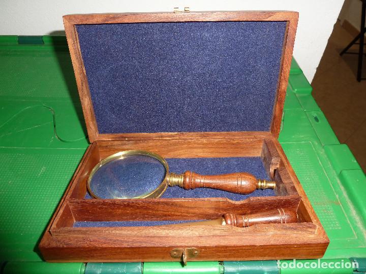 Estilográficas antiguas, bolígrafos y plumas: JUEGO DE ESCRITORIO DE LA MARINA - Foto 12 - 78063985