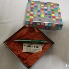 Estilográficas antiguas, bolígrafos y plumas: 7-MINIBOLIGRAFO ALEX BOG. Lote 78380609