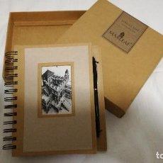Estilográficas antiguas, bolígrafos y plumas: 19-MAX LEAF DIARIO Y BOLIGRAFO. Lote 78410937