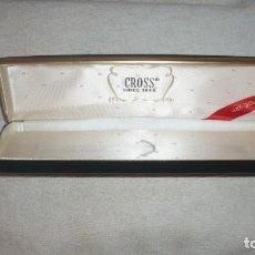Estilográficas antiguas, bolígrafos y plumas: ESTUCHE CROSS BOLIGRAFO. Lote 78439269