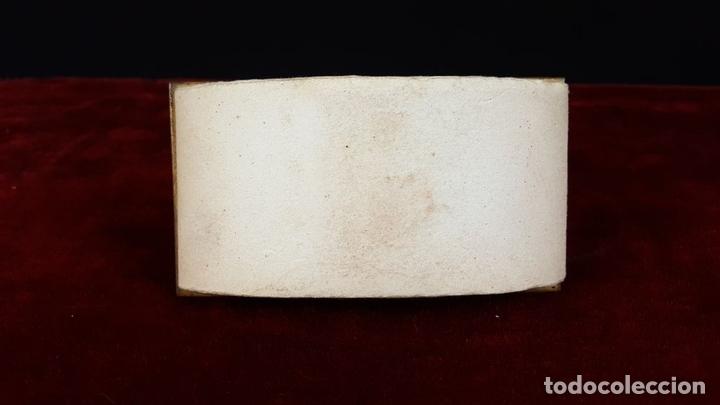 Estilográficas antiguas, bolígrafos y plumas: ESCRIBANIA DE SOBREMESA EN BRONCE Y MARMOL. ABRECARTAS Y SECANTE. SIGLO XIX. - Foto 14 - 79128145