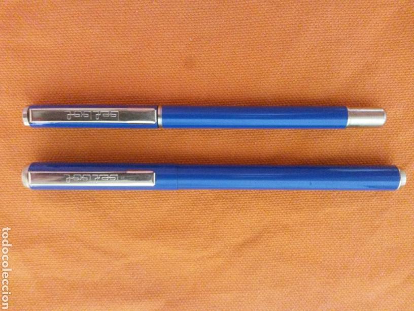 Estilográficas antiguas, bolígrafos y plumas: ANTIGUO CONJUNTO BEL BOL PLUMA ESTILOGRAFICA Y BOLIGRAFO METAL SIN USAR - Foto 2 - 79202323