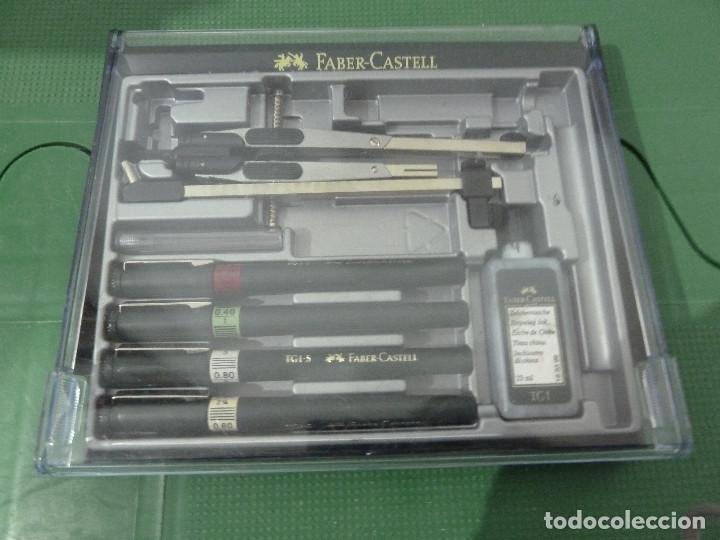 Estilográficas antiguas, bolígrafos y plumas: CONJUNTO FABER CASTELL - Foto 2 - 79725149