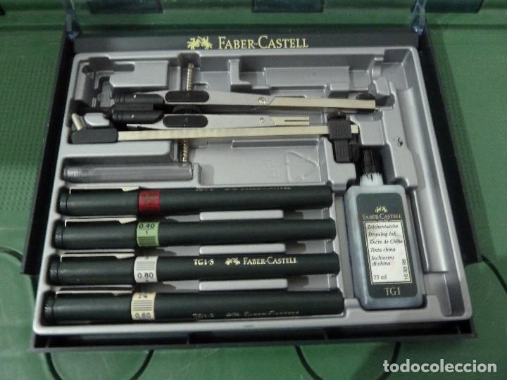 Estilográficas antiguas, bolígrafos y plumas: CONJUNTO FABER CASTELL - Foto 3 - 79725149