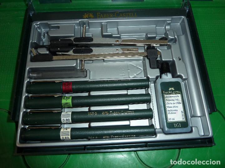 Estilográficas antiguas, bolígrafos y plumas: CONJUNTO FABER CASTELL - Foto 4 - 79725149