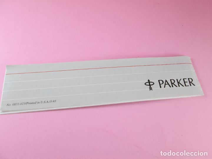 Estilográficas antiguas, bolígrafos y plumas: 5974/juego-bolígrafo+portaminas-parker classic gt flighter-nos-caja-papel-ver fotos. - Foto 7 - 84421988