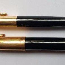 Estilográficas antiguas, bolígrafos y plumas: PARKER 61 PLUMA ESTILOGRAFICA + BOLIGRAFO MADE IN USA CHAPADOS EN ORO AÑOS 50. Lote 87653520