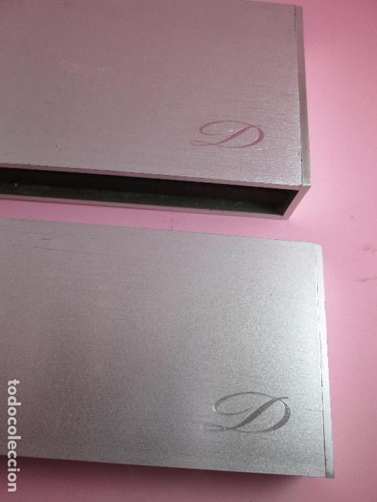 Estilográficas antiguas, bolígrafos y plumas: 4872·/juego-st.dupont-pluma+bolígrafo classique-perfecto-grabado:JC-cajas-convertidor-papel-ver fot - Foto 26 - 90240460