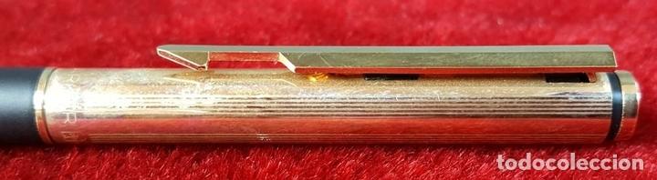 Estilográficas antiguas, bolígrafos y plumas: BOLIGRAFO Y PORTAMINAS. PARKER. MADE IN ENGLAND. ESTUCHE ORIGINAL. CIRCA 1960. - Foto 3 - 92814030