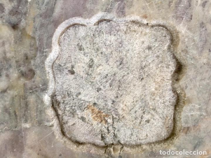 Estilográficas antiguas, bolígrafos y plumas: Base escribania tinteros marmol 1920 30,5x20,5x2,5 varios usos - Foto 12 - 96475143
