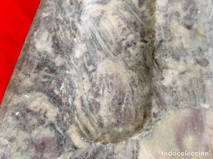 Estilográficas antiguas, bolígrafos y plumas: Base escribania tinteros marmol 1920 30,5x20,5x2,5 varios usos - Foto 14 - 96475143