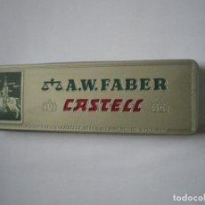 Estilográficas antiguas, bolígrafos y plumas: CAJA FABER CASTELL COMPLETA. Lote 96679075