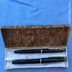 Estilográficas antiguas, bolígrafos y plumas: MONTBLANC. Lote 96707076