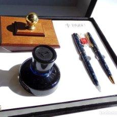 Estilográficas antiguas, bolígrafos y plumas: JUEGO PARKER SONNET DE COLECCIONISTA. Lote 97606299