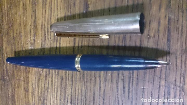 Estilográficas antiguas, bolígrafos y plumas: Pluma estilográfica parker y 2bolígrafos parker - Foto 4 - 102983215